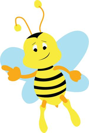 way up: Looking for a way to brighten up for spring  Wake your room up instantly with this eyecatching busy bee design