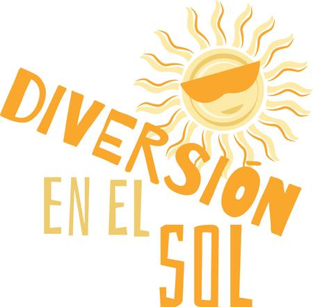 diversion: Decorate your homes with the warm glow of sunshine with this bold and beautiful design on your projects.