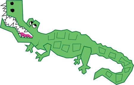 insulto: Consigue este reptil super cool en los regalos personalizados para los ni�os peque�os y los beb�s ni�os. Vectores