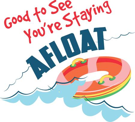 afloat: Looking for the perfect Birthday or Christmas gift Embroider this design on clothes towels pillows gym bags quilts tshirts jackets or wall hangings for your new swimmer