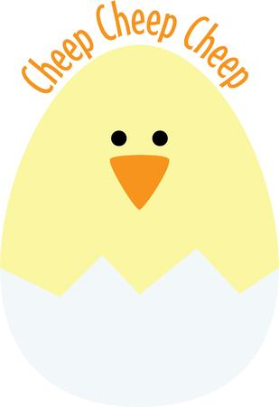 chick: Make a cute Easter project with a hatching chick.