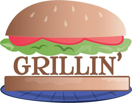 back yard: Just what you need for a perfect summer evening in the back yard Get this grilling inspired design on towels aprons and shirts for the perfect gift.