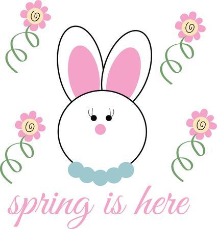 cottontail: Lindo y esponjoso conejito est� listo para todas las fiestas Este dise�o ser� fabuloso en todos los proyectos de su Pascua