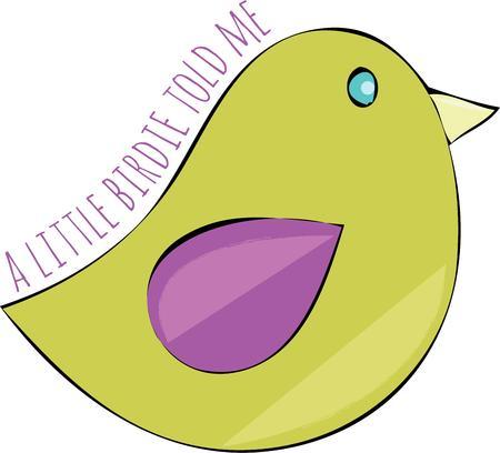 tweet: A bird lover will want this birdie.