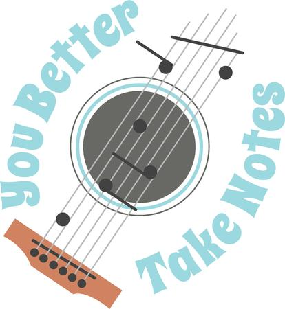 strum: Let your music take flight.  Perfect for the guitar player you know.  They will love it