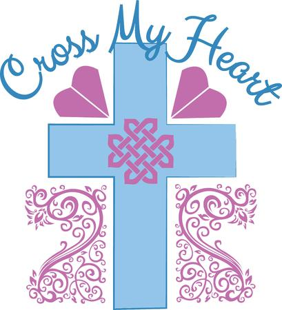 calvary: This design is perfect for a variety of religiousthemed projects such as Bible covers and bookmarks first communion gifts and more.