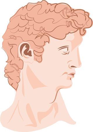 statue grecque: Cette statue grecque est la vision d'un v�ritable h�ros.