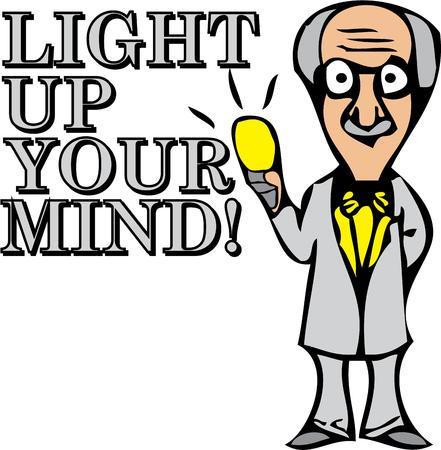 invented: Einstein invented the light bulb.  Add this design to inspire your class.
