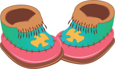 moccasin: Moccasins are comfortable to wear.  A cute phrase for a twist of words.