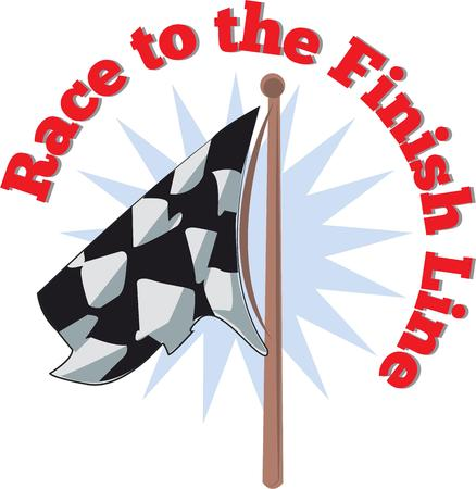 nascar: Get ready to start the race with these flags.