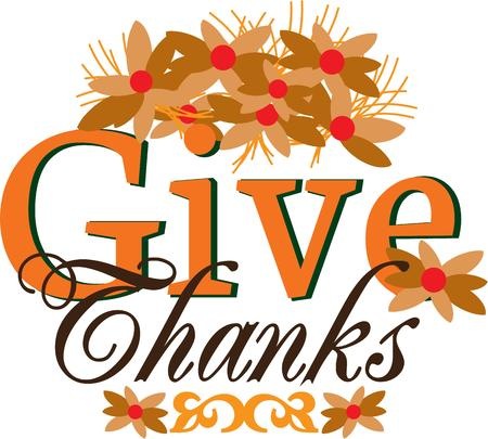 give thanks to: This design will make a wonderful Christmas decoration.