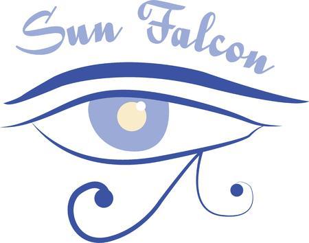 ojo de horus: Esta imagen hermosa es perfecta para su diva de la moda. Perfecto para a�adir a su bolsa de maquillaje.
