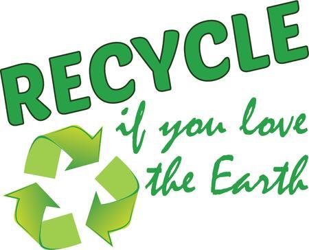 universal love: Mostrar su responsabilidad de difundir la palabra sobre la responsabilidad ambiental, con orgullo, con este dise�o en bolsas, pancartas, camisetas y mucho m�s. Vectores