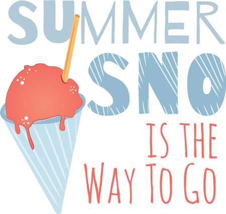 treat: Stay cool this summer with this ice cold treat on kitchen linen, tablecloths and more!