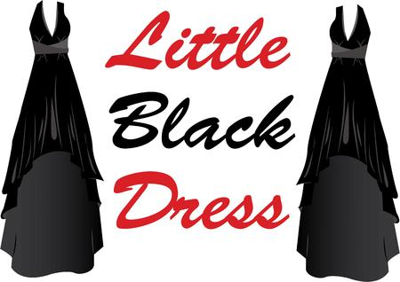 欲望: Accessorize to your hearts desire.  Get this little black dress on your indoor projects and add personality to your style!