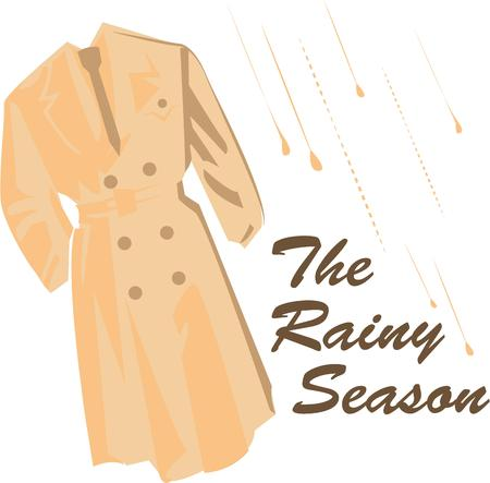 overcoat: Accessorize to your hearts desire.  Get this trench coat on your indoor projects and add personality to your style!