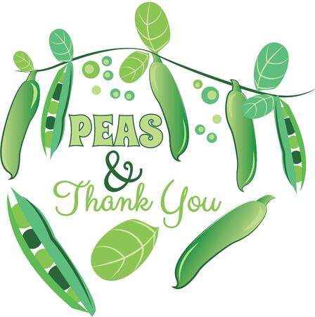 garden peas: Savor the flavors of everyday real food, fresh from the garden with this design on cozies, kitchen towels and more.