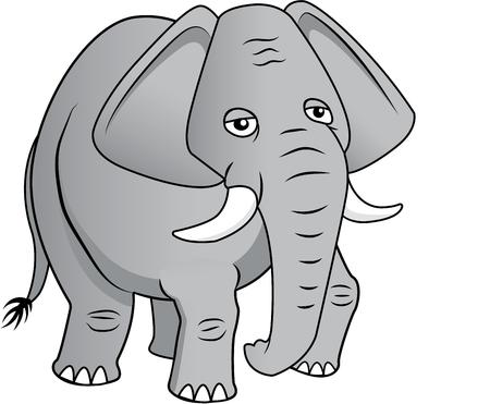 home addition: This majestic pachyderm will make a stunning addition to any home decor or as a perfect gift for the wildlife lover! Illustration