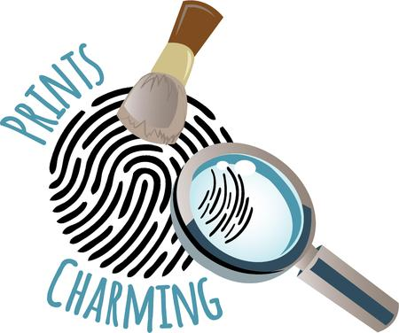 operation for: Use this magnifying glass in your undercover operation to take a closer look and find the truth with this design on clothing, throw pillows and more for your sleuth!