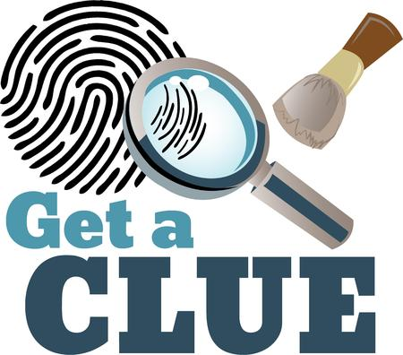 clue: Use this magnifying glass in your undercover operation to take a closer look and find the truth with this design on clothing, throw pillows and more for your sleuth!