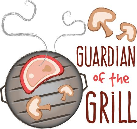 back yard: Just what you need for a perfect summer evening in the back yard! Get this grilling inspired design on towels, aprons, and shirts for the perfect gift.