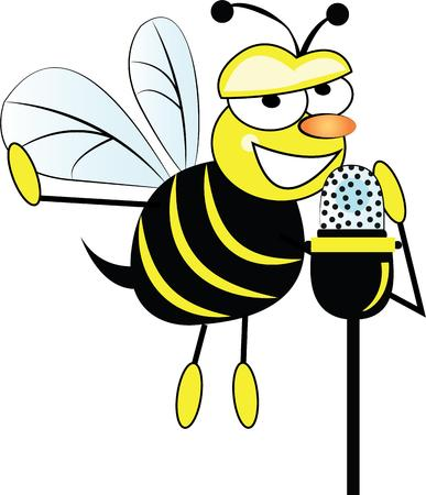 way up: Looking for a way to brighten up for spring  Wake your room up instantly with this eye-catching busy bee design! Illustration