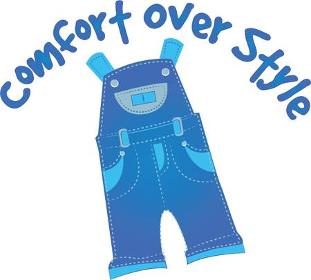 coverall: A great design on carryalls, sweatshirts, jacket backs, quilts, wall hangings, and anywhere else you can think of to recognize your favorite handyman!