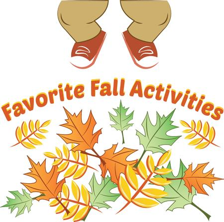 natures: Fall leaves are some of natures showiest treasures and will be make pretty decorations as corners and frames on towels, pillows, sweatshirts and more!