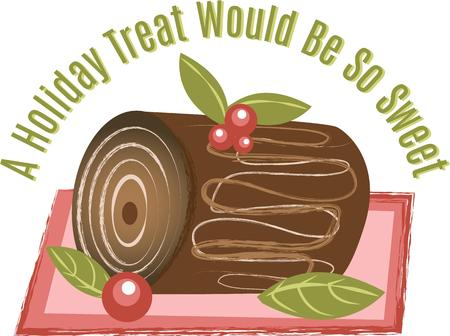 be: This holiday treat would be so sweet.  Add this design for your Christmas theme design.