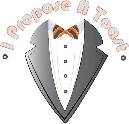 night out: This tuxedo is the perfect design for a guys night out.  Perfect on a shirt for the honeymoon.