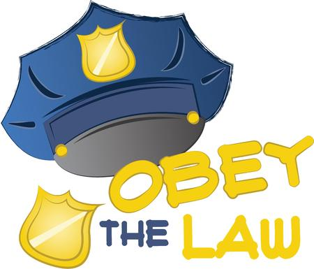 obey: You entrust your safety to police officers each day.  This design is perfect for thanking them! They will love it!