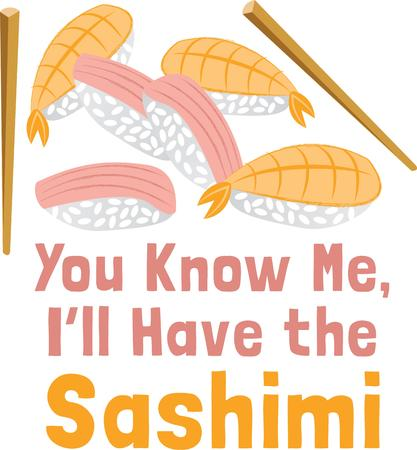 knew: Promote your sushi diner with this on your apron.