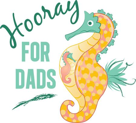 hooray: This adorable seahorse would be perfect in babys bathroom.  Add to towels and more.