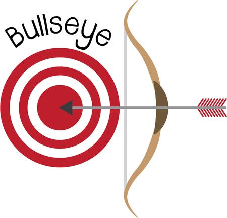 bulls eye: Aim, shoot, bulls eye!  Make a graphic statement with this design on framed embroidery, clothing, throw pillows and more!