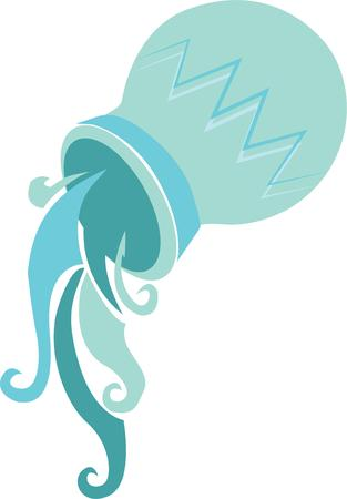 bearer: Aquarians are the perfect representatives for the Age of Aquarius.  Craft a gift for every birthday of this air sign with this design.