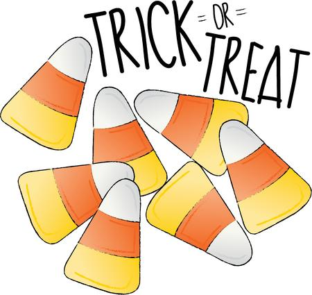 candy corn: These candy corn is a perfect idea for your Halloween theme. Embroider this design on clothes, towels, pillows, gym bags, quilts, t-shirts, jackets or wall hangings!