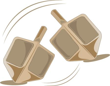 spinning: These spinning tops have been a childs toy all the way back in history.  This design will be perfect on a shirt or pillow in the play room.