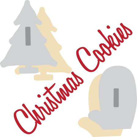 cookie cutter: Deck the halls and the rest of your home in Christmas cheer with this design on your holiday projects.