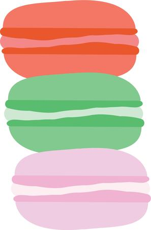 springboard: The French macaron is a springboard for your wildest color and flavor combinations.  Get this appetizing design on your home projects!