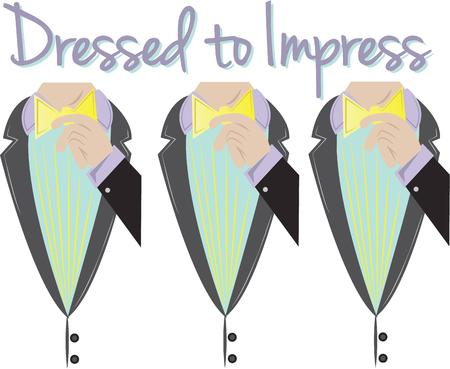 formal wear clothing: The devil is in the detail! Add fashion and beauty to tote bags, wall hangings, quilts and more with a couture costume design. Illustration