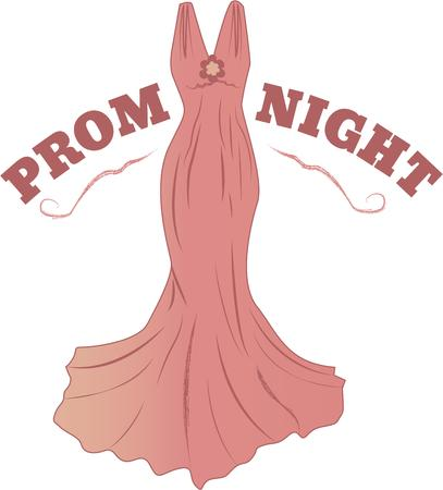 prom: The devil is in the detail! Add fashion and beauty to tote bags, wall hangings, quilts and more with a couture costume design Illustration