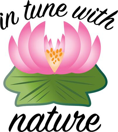 lily pad: Keep your needs simple.  Conquer suffering and find your inner peace with this design on clothing, towels, pillows, quilts, t-shirts, jackets, wall hangings and more!
