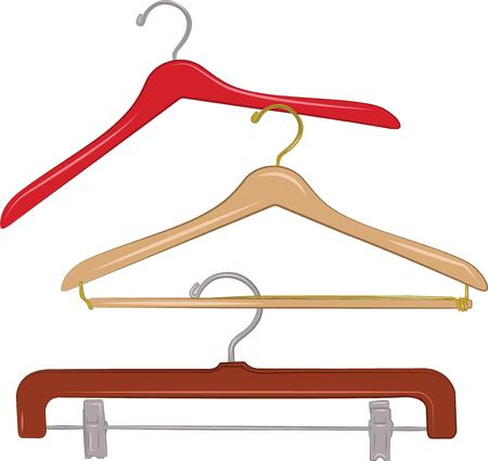 hangers: Dress up your wooden hangers with this design and get your lockers, sewing supplies, crafts or anything else organized.