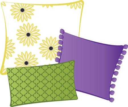 headrest: Need something to make your home feel warm and cozy? This colorful design is a lovely way to add a touch of springtime year round.