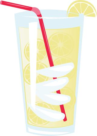 book club: Quench your thirst on a hot day with this refreshing drink. This design is perfect on all your summer celebrations such as kids birthday, baby shower, book club events and more. Illustration