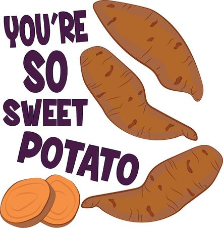 baked potatoes: This little spud is very popular among the tater tots.  Get this adorable design on bodysuits, layettes, baby t-shirts, hats, bibs & more!