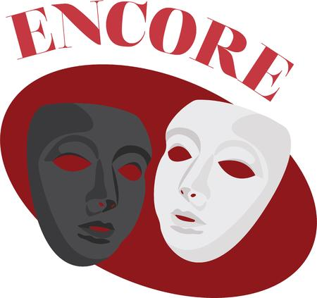 tragedy: Add these Comedy Tragedy Masks to your projects and design some dramatic gifts theater lovers will fall for!