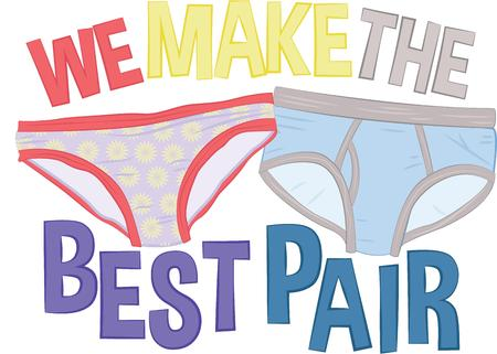 undergarment: This humorous design will make a great keepsake for the newlyweds on framed embroidery, clothing and personalized gifts.
