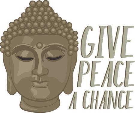 inner peace: Mantenga sus necesidades simples. Conquistar el sufrimiento y encontrar su paz interna con este dise�o en la ropa, bufandas, bordado enmarcado y m�s.