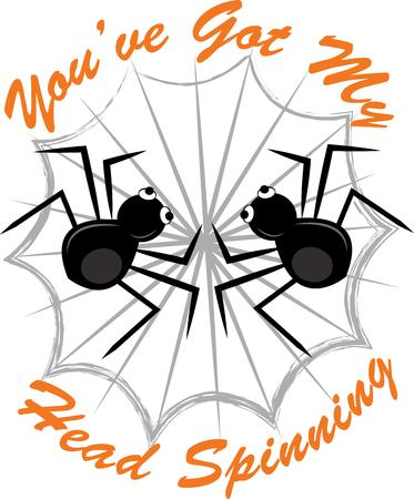 black widow: Prepare to have a hauntingly delightful Halloween with this design on t-shirts, hoodies, hats, warm-ups and more for the little ones!